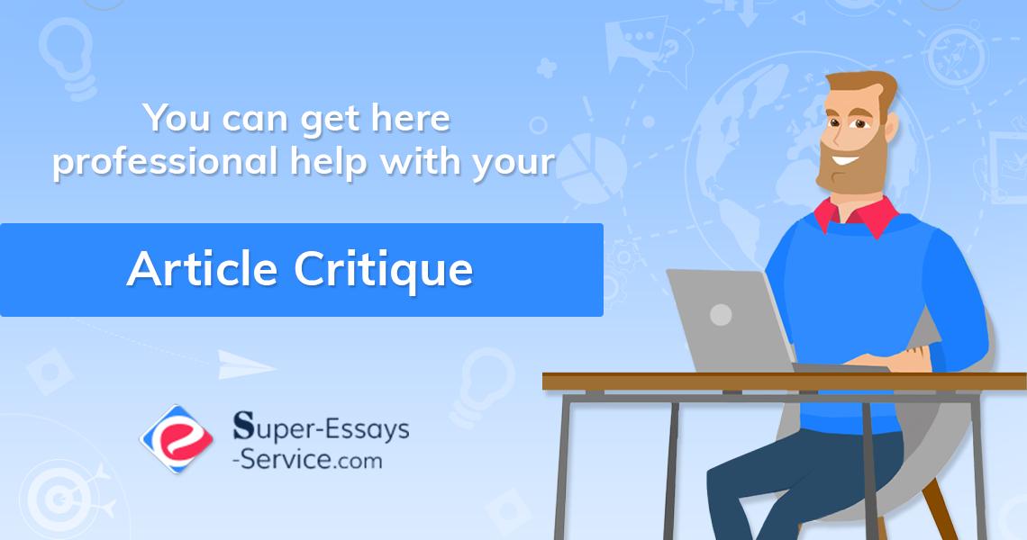 Buy Article Critique Online