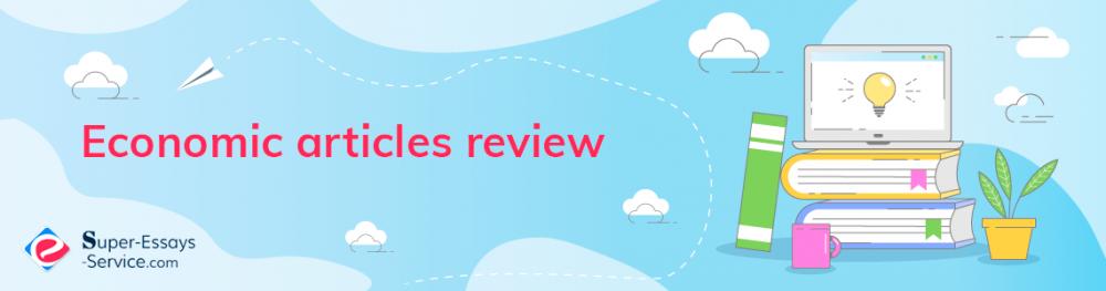 Economic articles review